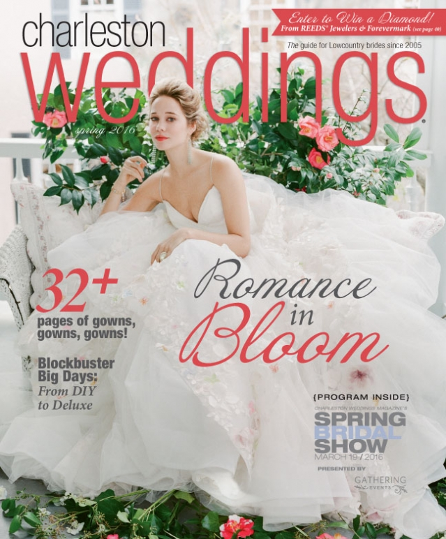 Charleston Weddings Cover