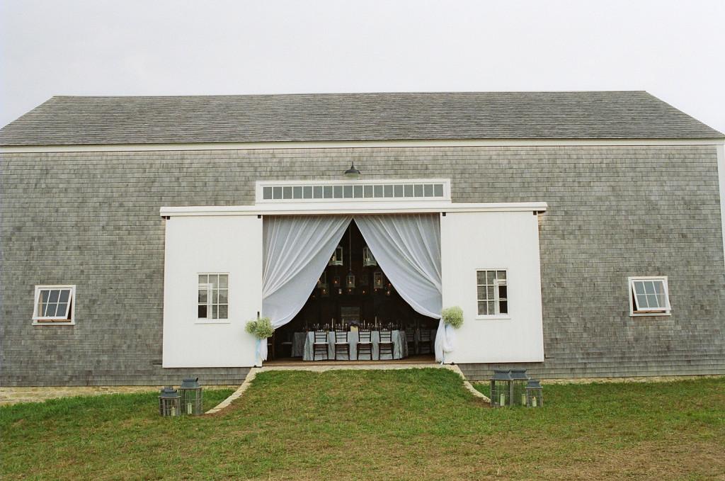 Barn at Farm Wedding by Tara Guerard Soiree