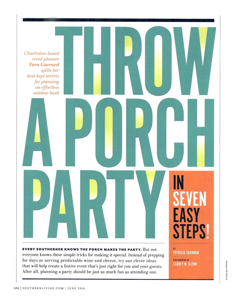 Southern Living June 2016 page 2