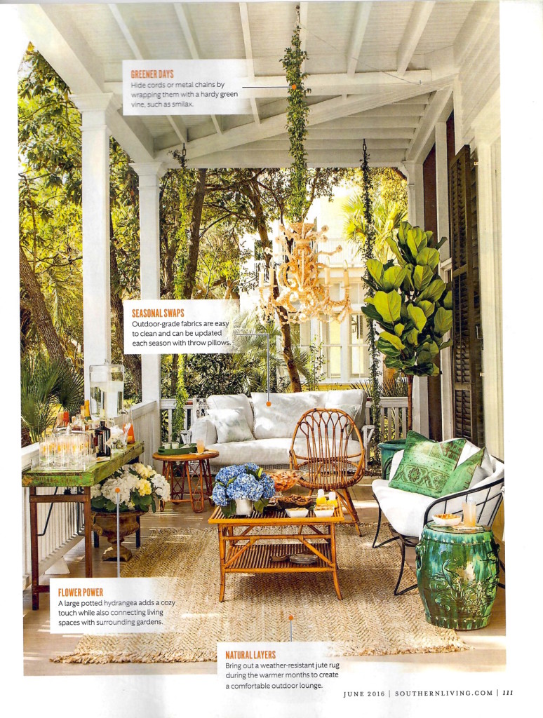 Southern Living June 2016 page 7